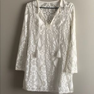 BEAUTIFUL cotton lace summer dress!!